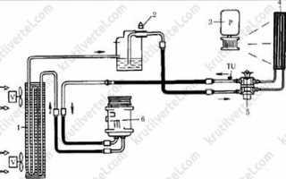 Компрессор кондиционера воздуха Lifan Solano / 620 с 2008 года