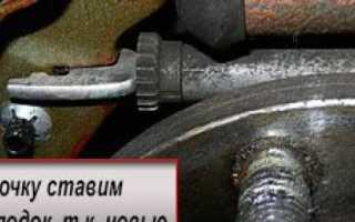 Замена задних тормозных колодок Шевроле Авео Т250