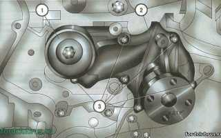 Замена помпы (водяного насоса) Форд Фокус 3
