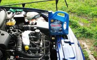 Замена моторного масла и фильтра в двигателе автомобиля «LADA Priora» своими руками