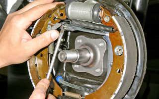 Квалифицированная замена тормозных колодок Рено Логан передних и задних